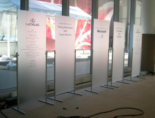 Events Signs NYC Signs For Events Trade Show Banners Event Cool Free Standing Signs Displays